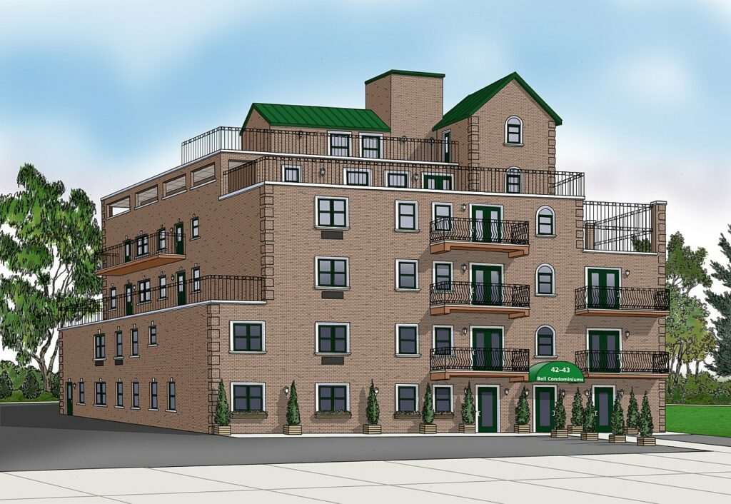 color commercial rendering exterior