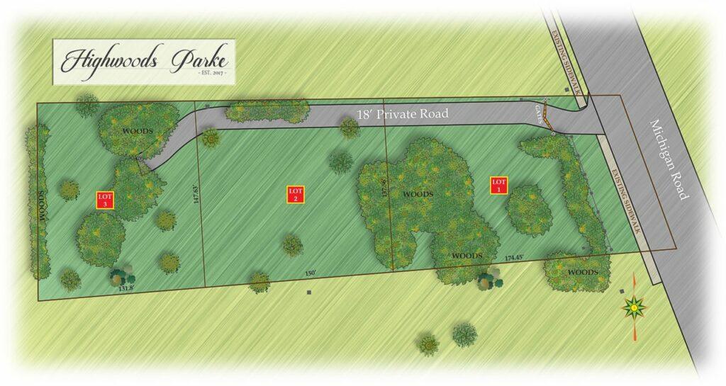 park map rendering